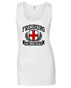 Cotton Island - T-shirt Frauen armellos TSTEM0037 freiburg im breisgau