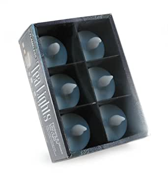 Mark Feldstein & Associates TL1036GB White Tea Lights 6-Pack Gift Box