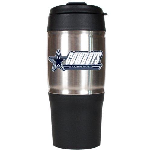 NFL Dallas Cowboys 18-Ounce Travel Mug (Dallas Cowboys Coffee Travel Mug compare prices)