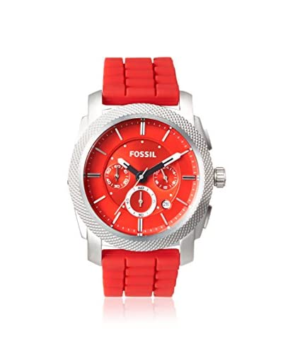 Fossil Men's FS4808 Machine Red Stainless Steel Watch