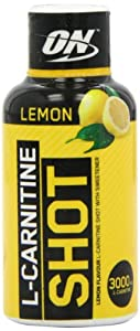 Optimum Nutrition 60 ml L-Carnitine Shot Orange(pack of 12)