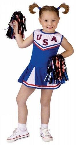 Kids Usa Cheer Costume - Medium