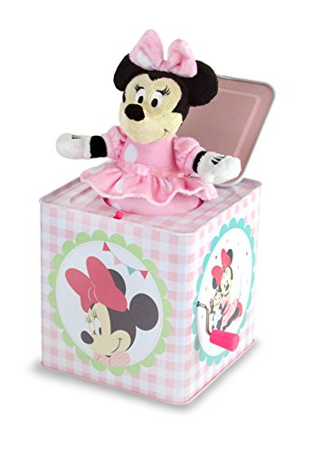 Kids Preferred Disney Minnie Jack-in-the-Box Instrument - 1