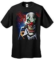 Joker Clown Smoking Cigar T-Shirt