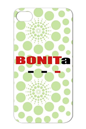 Skid-Proof Red Case Cover For Iphone 4 Tpu Quotations Funny Bonita front-997045