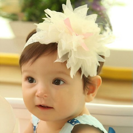 domire 1 piece baby girls hair decor hairband headband
