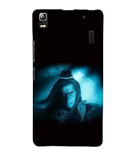 printtech Lord God Shiva Back Case Cover for Lenovo A7000