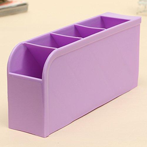 4 Pcs Purple Kitchen Spoon Tableware Underwear Desktop Drawer Office Cosmetics Accessories Socks Storage Boxes