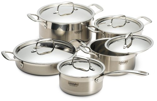 Concord 10 Piece Stainless Steel Cookware Set Lowest