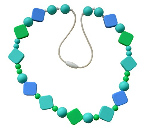 Stella mamma Non-Toxic Fashion Silicone necklace 2014 Ocean Breeze