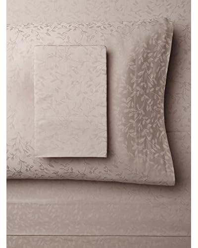 Westport Linens Leaf Jacquard Sheet Set