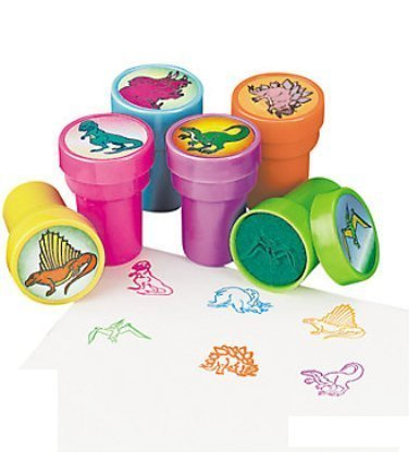 Assorted Dinosaur Stampers (24 PCS) - 1