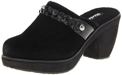 "Women's Skechers Clogs ""Disco Bunny-Mirror Ball"" - Black (7, Black)"