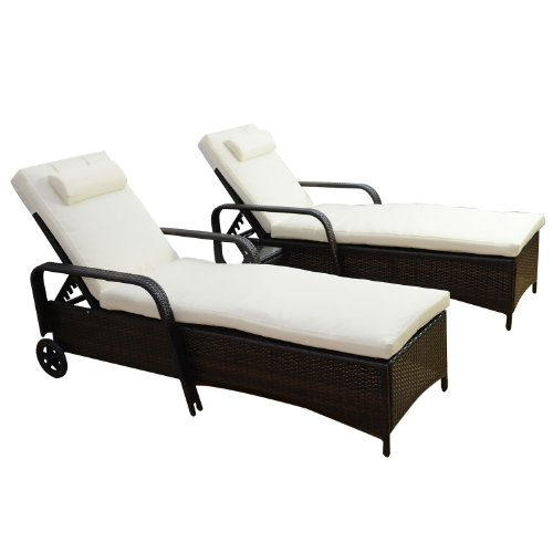 Outsunny-Garden-Rattan-Furniture-3-PC-Sun-Lounger-Recliner-Bed-Chair-Set-with-Side-Table-Patio-Outdoor-Wicker-Adjustable-head-height-FIRE-RESISTANT-Sponge-Brown