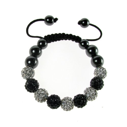 Women's, Girls, Ladies Disco Bracelet Shamballa