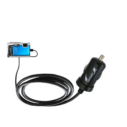 Mini 10W Car / Auto Dc Charger Designed For The Olympus Stylus Tough 8010 With Gomadic Brand Power Sleep Technology - Designed To Last With Tipexchange Technology