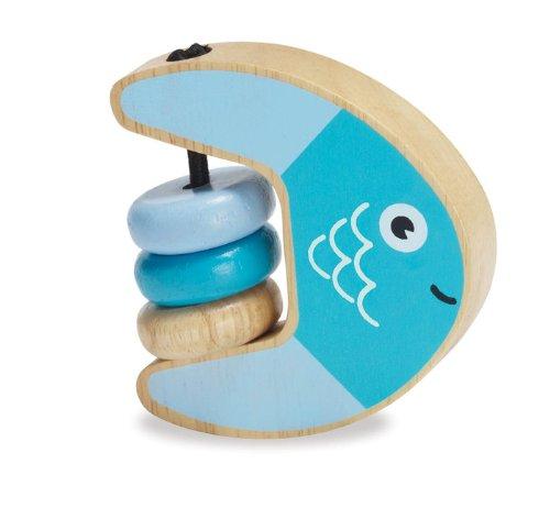 Manhattan toy Grasp Rattle Fish - 1