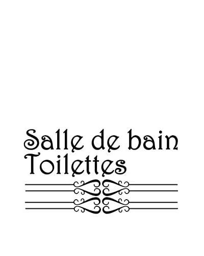 Ambiance-sticker Vinile Decorativo Toilettes