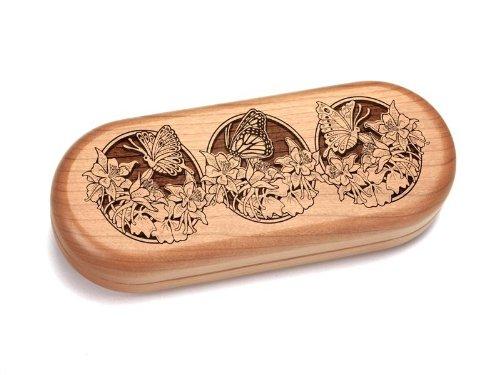 """2X5"""" Box With 2.5"""" Pakkawood Knife - Butterflies"""