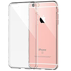 iPhone 6s Case, JETech iPhone 6s/6 4.7 Case Soft Flexible Extremely Thin Transparent Skin Scratch-Proof for Apple iPhone 6s and iPhone 6 4.7 Inch (Clear) - 0662