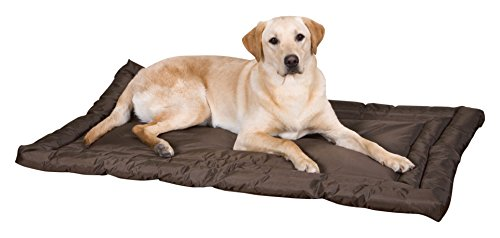 Slumber Pet Water-Resistant Beds  –  Comfortable and Durable Nylon Beds for Dogs and Cats – Small, Chocolate
