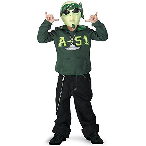 Martian G Alien Kids Costume