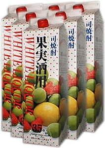 【焼酎甲類】35度 司焼酎果実酒用 ホワイトリカー1800mlパック【1ケース】6本入り