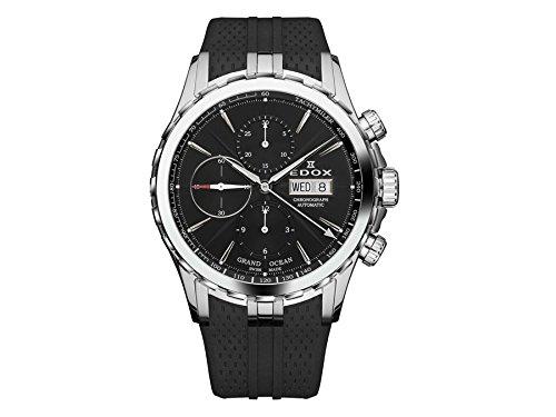 Edox Grand Ocean reloj hombre cronógrafo automática 01113 3 NIN
