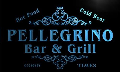 u34468-b-pellegrino-family-name-bar-grill-home-brew-beer-neon-sign-enseigne-lumineuse