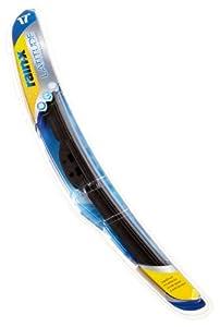 """Rain-X 5079283 Latitude 8-In-1 Premium Graphite Coated Wiper Blade, 17"""" (Pack of 1)"""