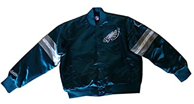 MTC Boys Philadelphia Eagles NFL satin Jacket (Age 13-14 yrs)