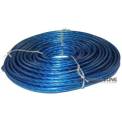 Ssw12-25 Blue 12 Gauge 25' Feet Speaker Wire For Home Or Car Audio