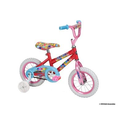 Huffy 12-Inch Girls So Sweet Bike (Candy Pink/Bubble Gum)