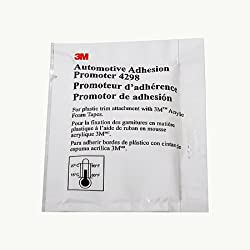 3M Scotch 4298 Adhesion Promoter (Sponge Applicator Packet): 2.5cc sponge applicator (Straw)