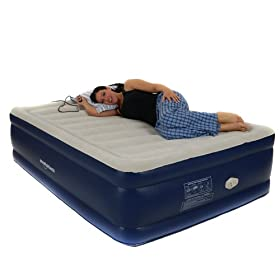 Smart Air Beds Bd 11 Platinum Raised Air Bed With Built In Pump And Airtek Comfort Control Review Skdfhre