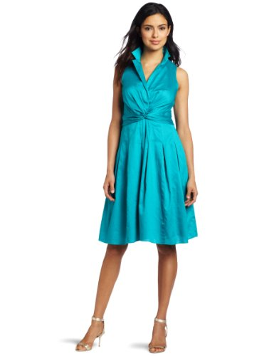 Anne Klein Women's Doris Twist Front Dress