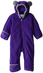 Columbia Baby Tiny Bear II Bunting, Hyper Purple/Graphite, 12-18 Months