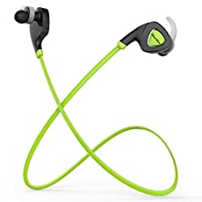 buy Hongyu®Bluedio Q5 Sports Wireless Bluetooth Headsets V4.1 Stereo Earphone In Ear Earbud Sports Sweatproof Music Headset Built-In Microphone Support App Noisy Reduction Gift Package (Green)