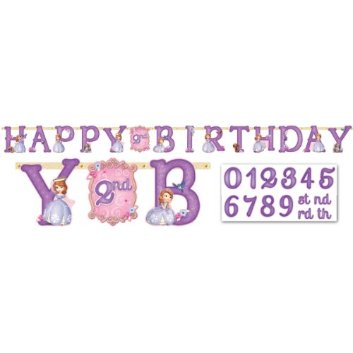 Sofia the First Birthday Banner 10 Ft.