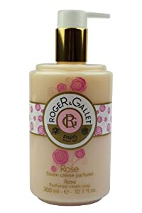 Rose by Roger & Gallet 10.1 oz Perfumed Cream Soap