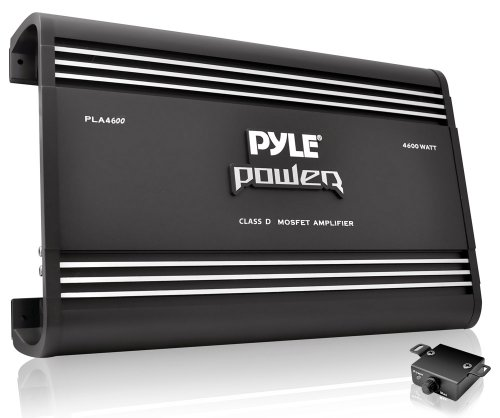 Pyle Pla4600D - 4600 Watt Monoblock Class-D Amplifier (Discontinued By Manufacturer)