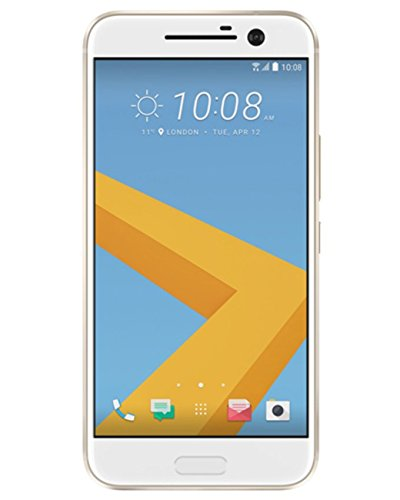 HTC 10 Smartphone (13,2 cm (5,2 Zoll) Super LCD 5 Display, 1440 x 2560 Pixel, 12 Ultrapixel, 64 GB, Android) glacier silber