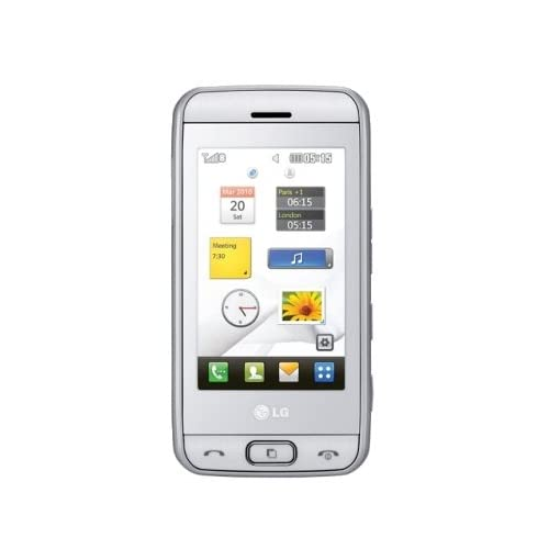 T�l�phone GSM LG ELECTRONICSVIEWTY SMILEGT400BLANC