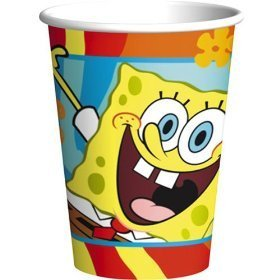 Spongebob Cups 8ct - 1