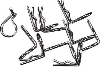 Traxxas 3935 Body Clips 90 Degree Angle, 10-Piece - 1