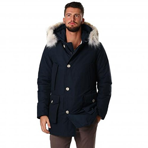 WOOLRICH WOOL LINED ARCTIC PARKA DF DKN UOMO XL