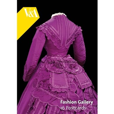 V&A Fashion Gallery Postcard Book
