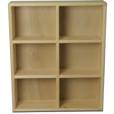 New Tower Pine Wood BluRay DVD Storage Rack - Handcrafted in the USA!