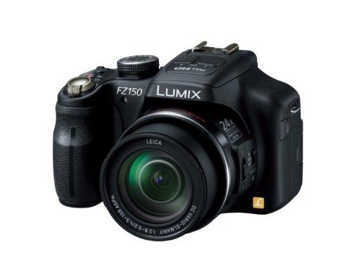 Panasonic デジタルカメラ ルミックス ブラック DMC-FZ150-K