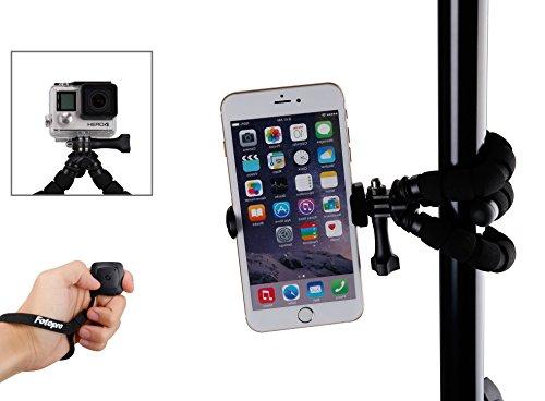 Fotopro Smartphone trépied avec Bluetooth déclencheur à distance pour iPhone, Samsung und autres Smartphones, Gopro